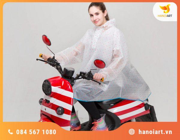 áo mưa chất liệu eva